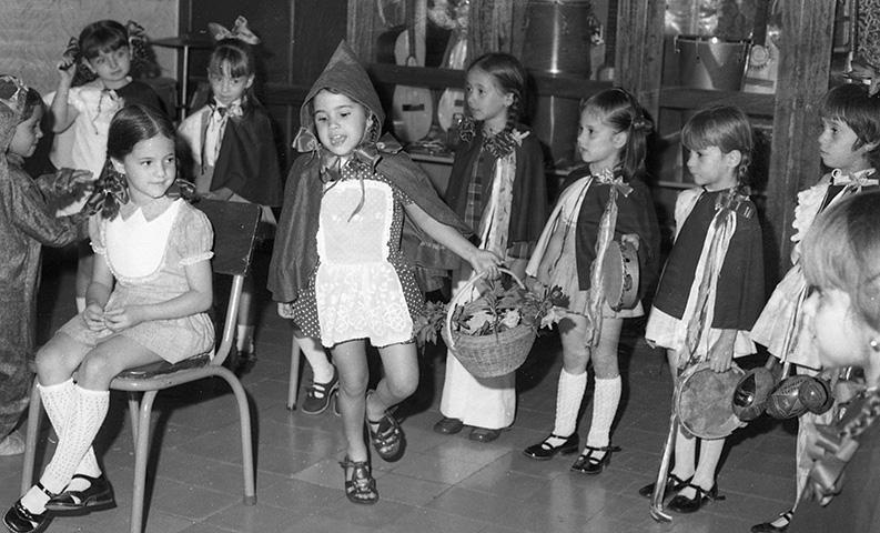 Hermanas Carmelitas Fiesta de la hermana_1973_Horacio Gil Ochoa